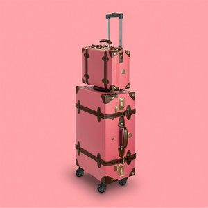 Retro Punk: Lightweight suitcases with a beautiful vintage look — Bora Bohème