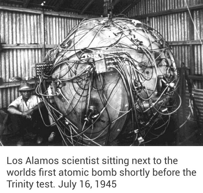 World's first atomic bomb