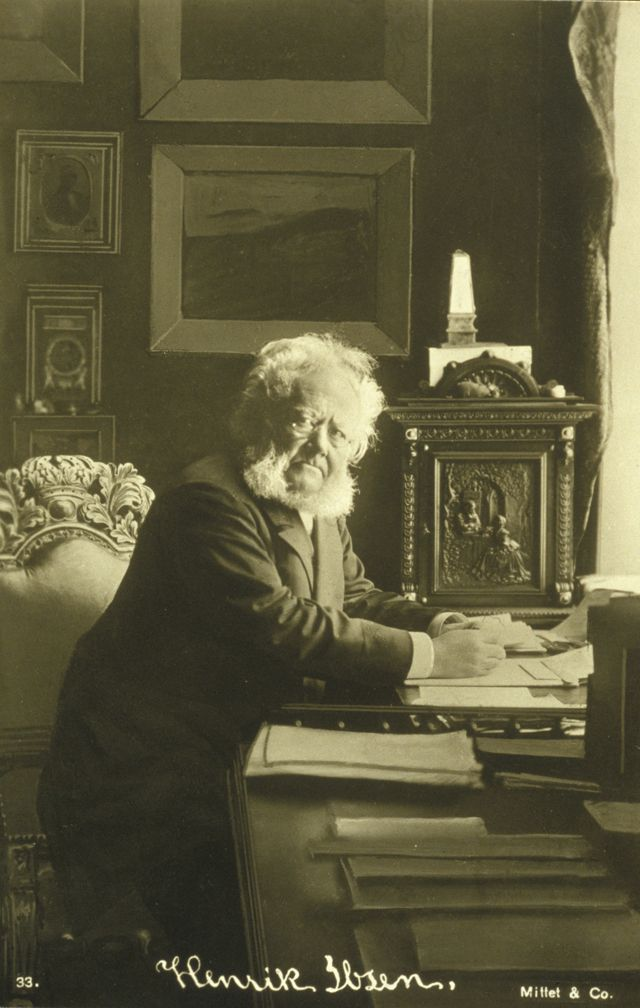 "Henrik Ibsen - wrote one of my favorite plays: ""A Doll's House"""