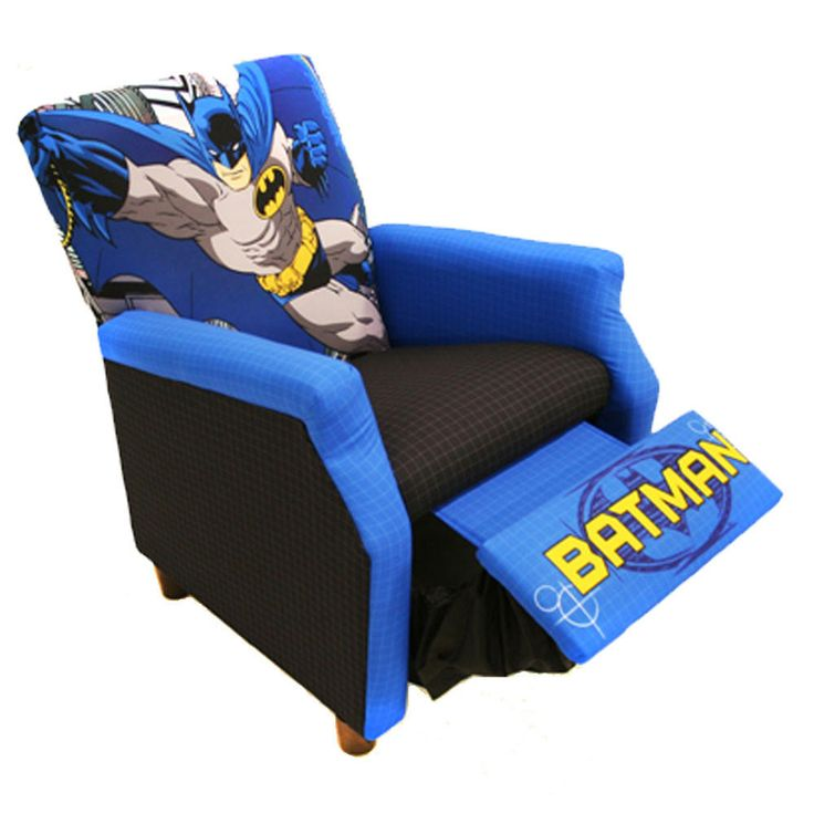 Batman Kids Recliner Chair from Simply Superheroes. Saved to Batman. Shop more products from  sc 1 st  Pinterest & Best 25+ Kids recliner chair ideas on Pinterest | Oversized ... islam-shia.org
