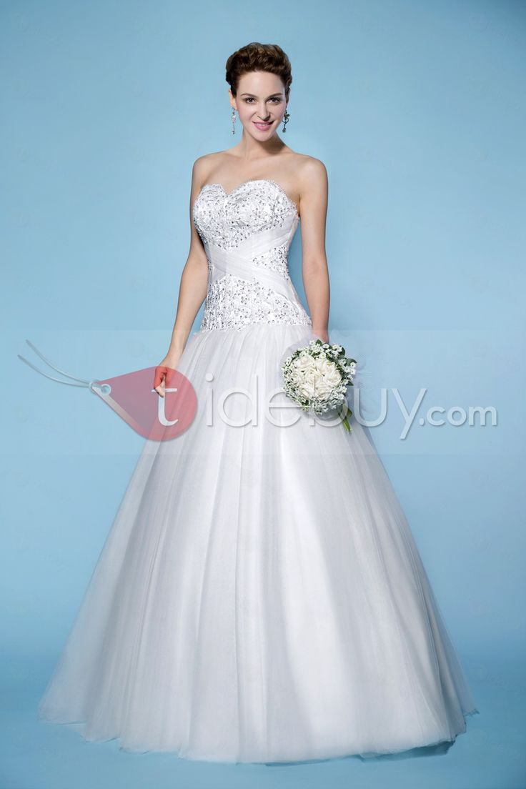 259 best wedding dresses images on Pinterest | Wedding frocks ...