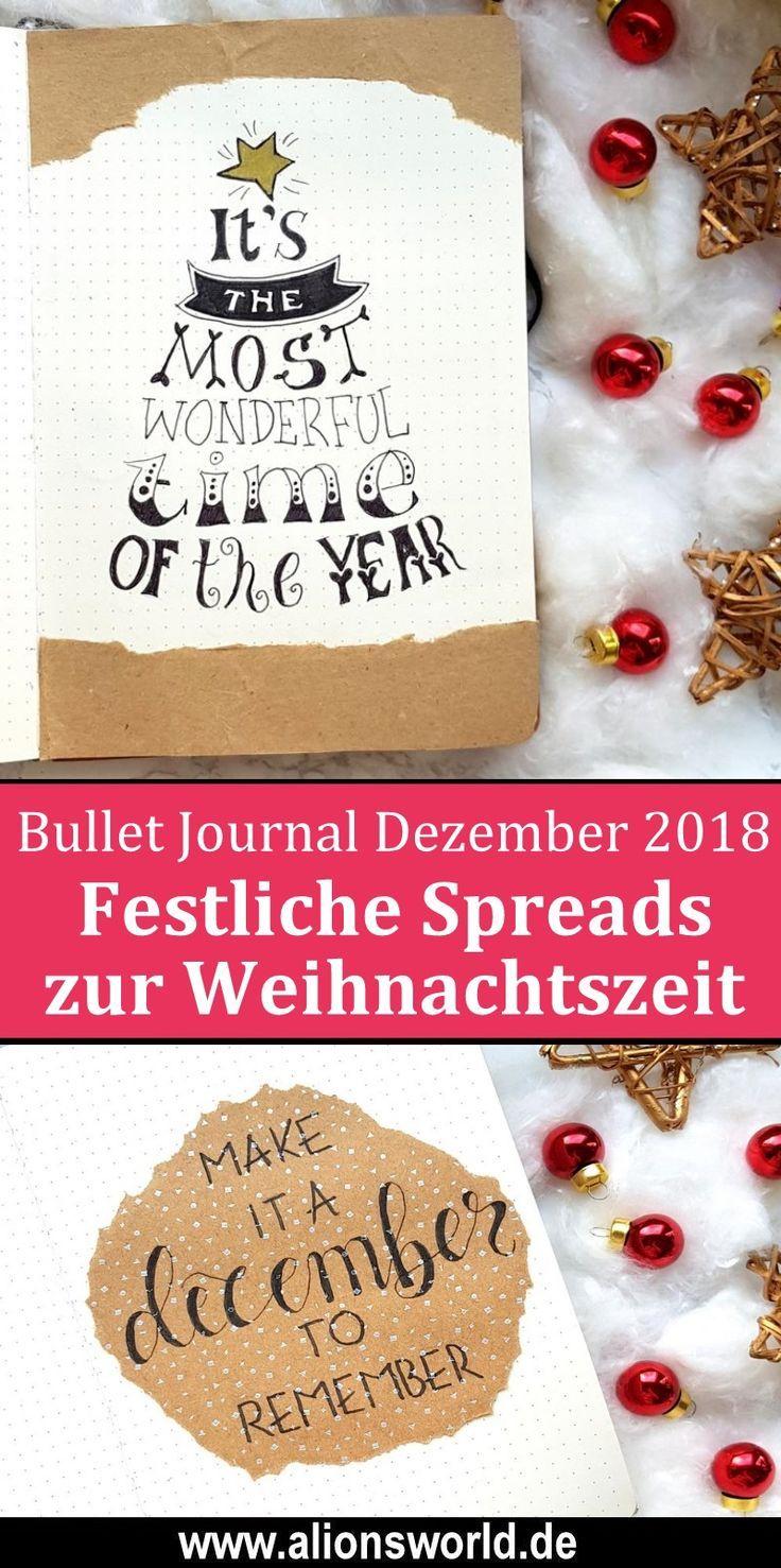 Bullet Journal   Dezember 20 – A december to remember ...