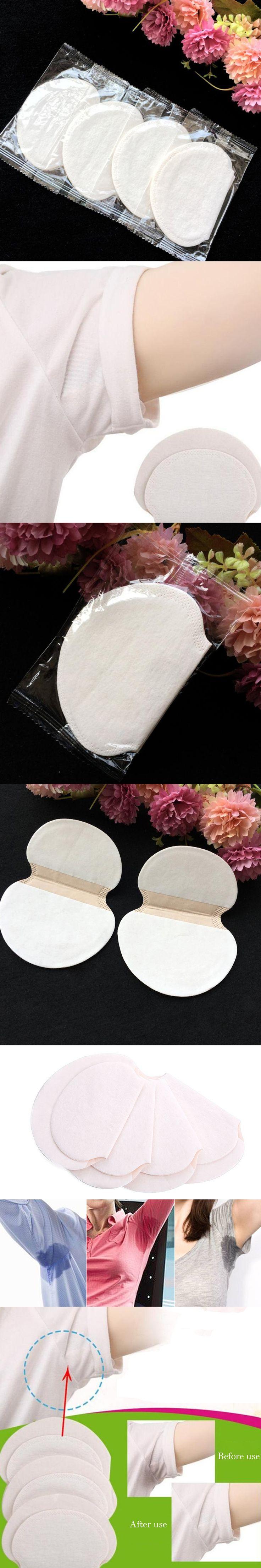 50pc Disposable Anti Sweat Pad Underarm Sweat Dress Clothing Armpit Guard Pads Sheet Shield Absorbing Perspiration