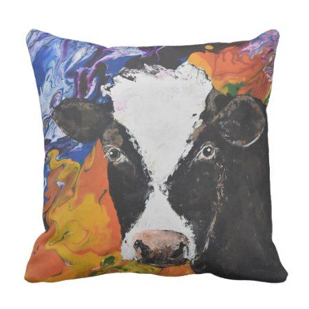 Cow pillow #cushion #pillows #farmhousestyle #country #cows