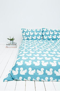 Anorak Squirrel Duvet Set