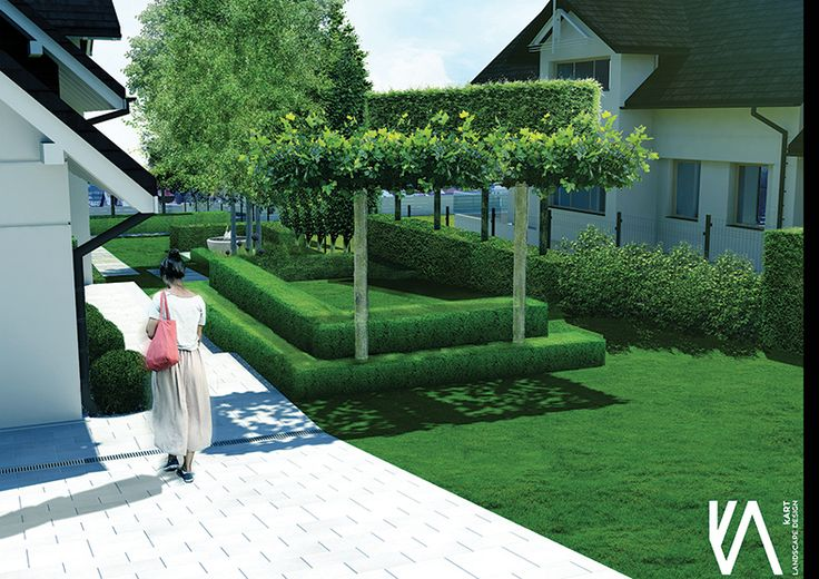 PROJECT / PRIVATE GARDEN 'BRZOZÓWKA' visualisation 'I'  ELEGANCE/ SIMPLYCITY / MINIMALISM