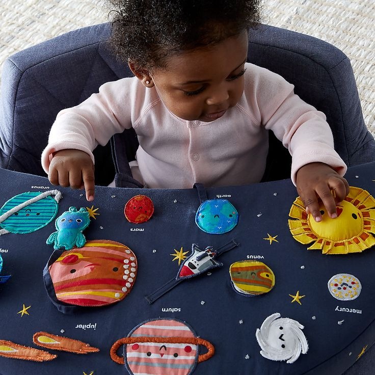 Deep Space Baby Activity Chair + Reviews Crate and