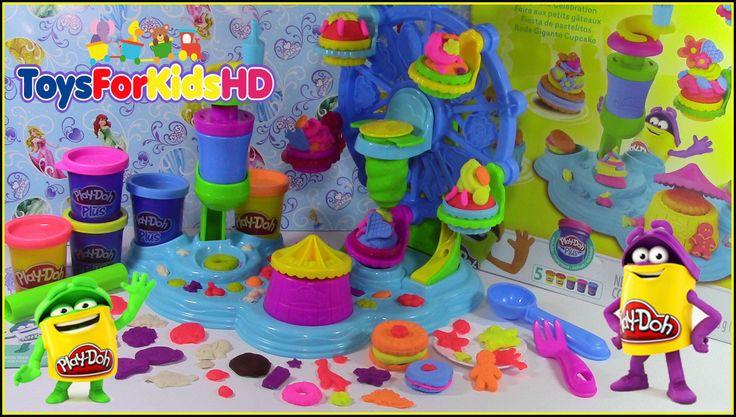 Play Doh Fiesta de Pastelitos - Play Doh Cupcake Celebration