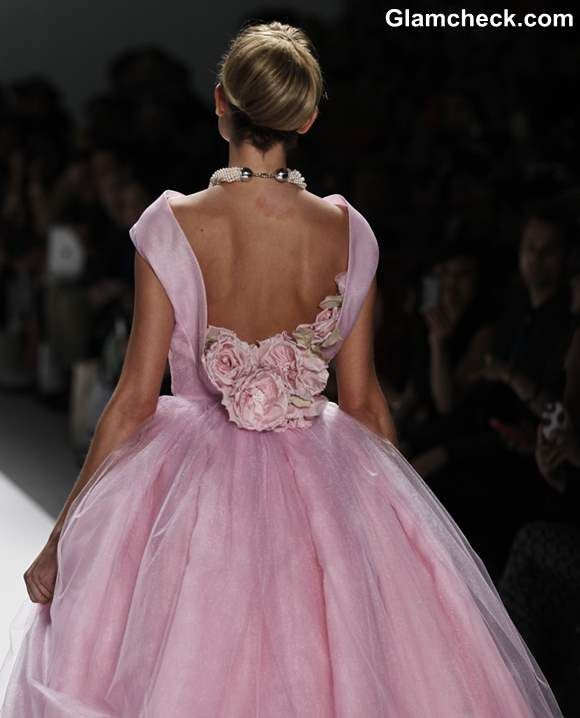 Pink ball gown,  Zang Toi  2013