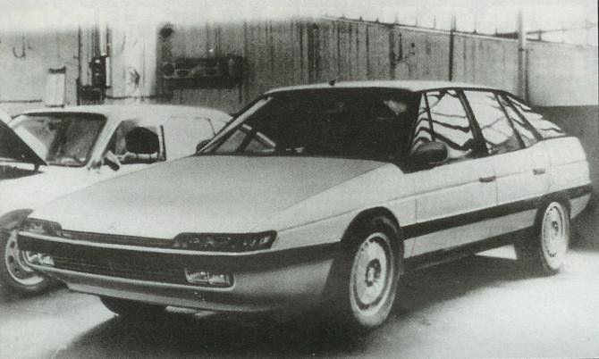 OG | 1989 Citroën XM | Prototype dated 1988