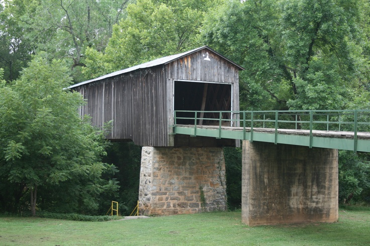 Euharle Covered Bridge  Cartersville, GA
