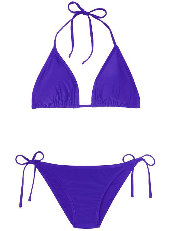 Celebrity Swim Lines: The Most Amazing Star-Designed Bathing Suits | People - Ashley Graham purple bikini