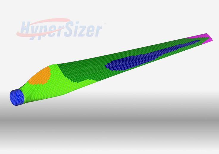 """HyperSizer Softwareさんのツイート: """"Optimize the ply shapes of your #composites structure to meet stiffness & strength requirements simultaneously #CAE https://t.co/2UbmI5odZj"""""""