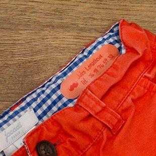 Nos étiquettes thermocollantes pour vêtements