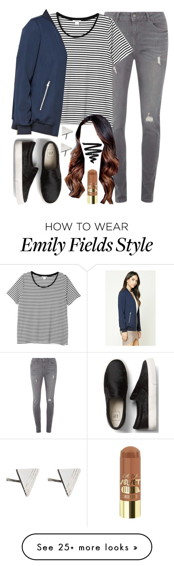 """Emily Fields inspired college outfit"" by liarsstyle on Polyvore featuring Dorothy Perkins, Gap, Monki, Forever 21 and Rachel Jackson"