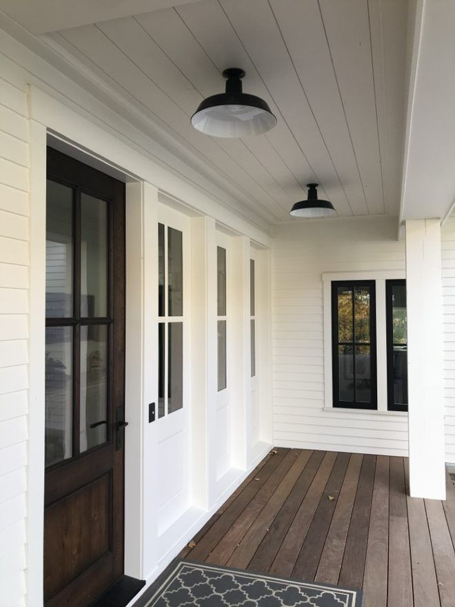 Lighting For Porches House With Porch Farmhouse Exterior Front Porch Lighting Outdoor porch lights flush mount