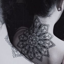 mandala tattoo neck - Google zoeken