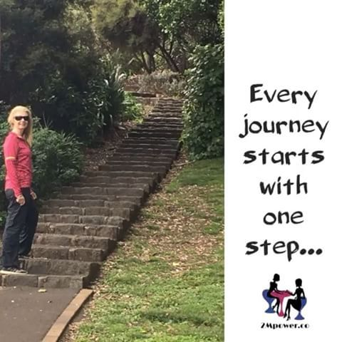 Take that first step today. You can thank yourself later. #journey #begin #step #one