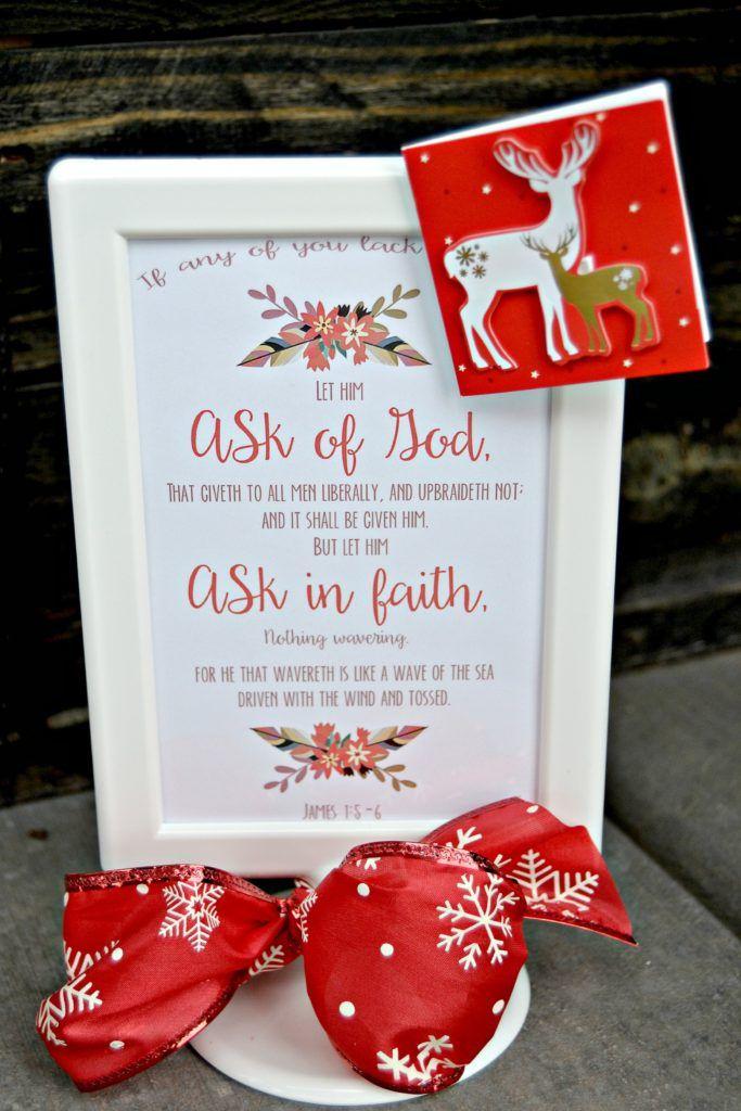2017 LDS Young Women theme gift idea, free printable - Lou Lou Girls