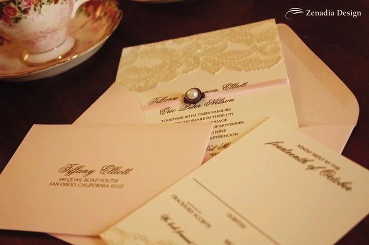 Invitation by Zenedia Design