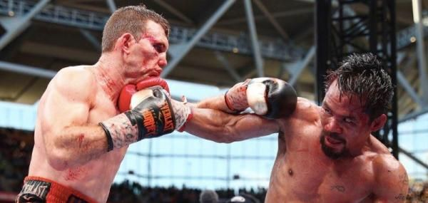"Australian Jeff Horn pulled off a stunning Rocky-like upset in the ""Battle of Brisbane"" with a unanimous decision over Manny Pacquiao to…"