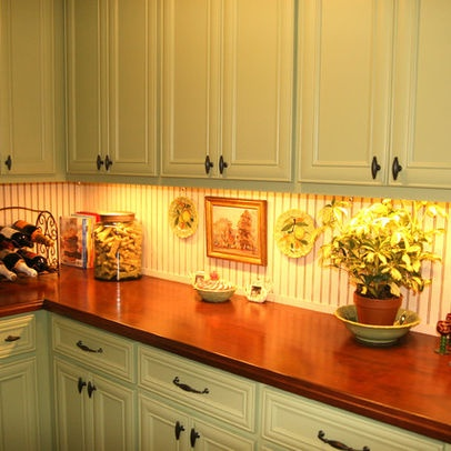 Beadboard Backsplash Design Pictures Remodel Decor And