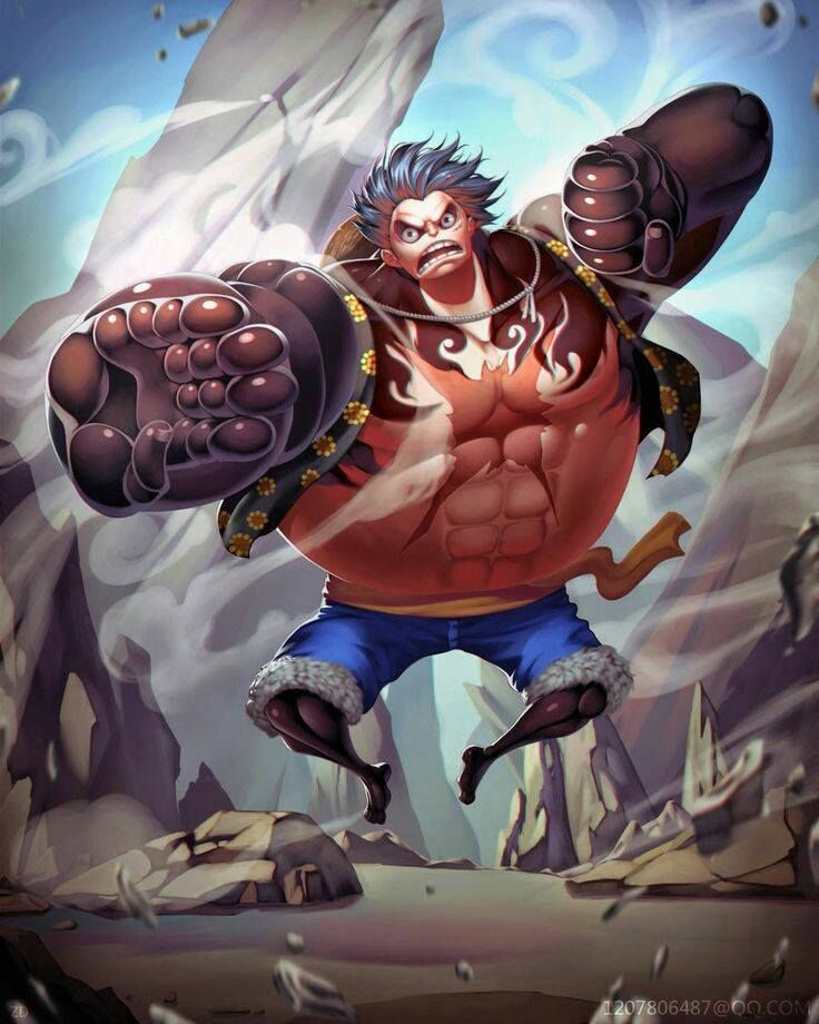 Luffy fourth gear