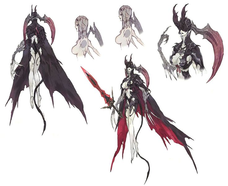 Succubus from Final Fantasy XIV: A Realm Reborn