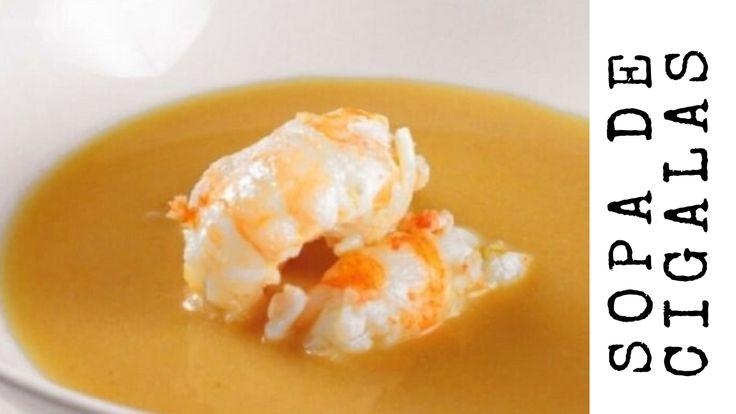 Anota esta #receta de #sopa de #cigalas. Puede ser tanto un primer o segundo #plato. Una sopa celestial, con todo el sabor del #mar, una prueba de que se puede #comer muy bien con #cuchara. Ideal para los días de #invierno o para aquellos días que no hace tanto calor.