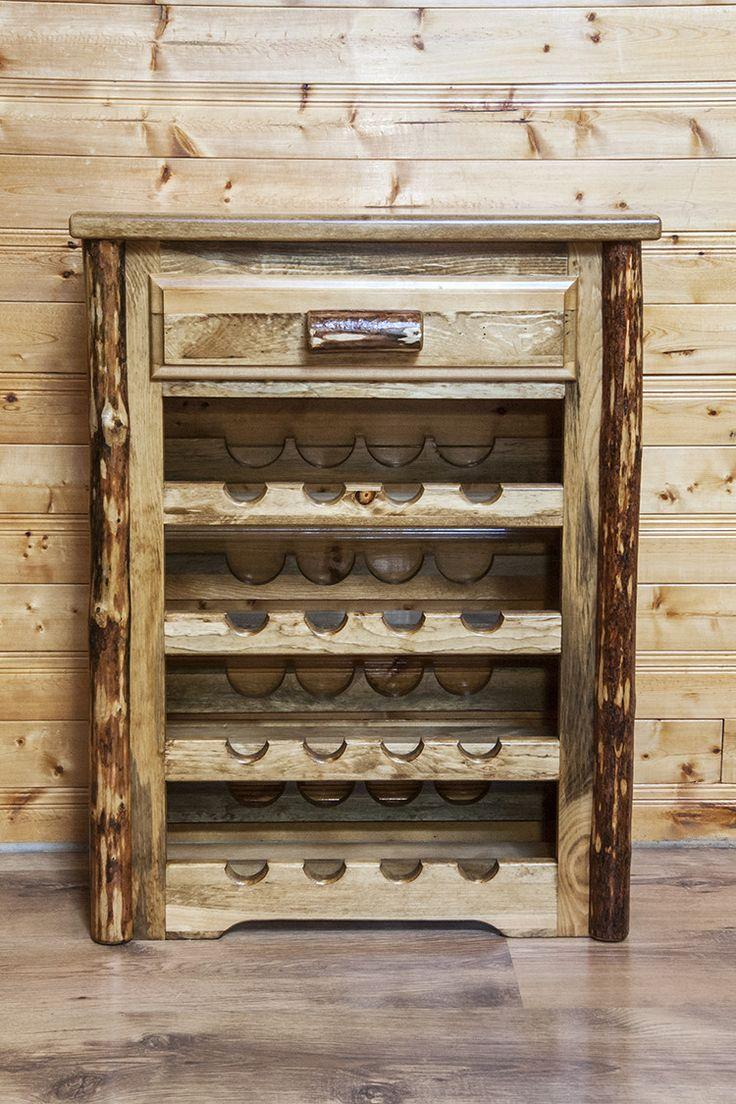 Glacier Country Wine Rack