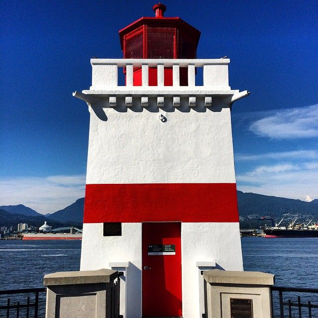 Brockton Point Lighthouse in Vancouver. Photo courtesy of 1worldtravel on Instagram.