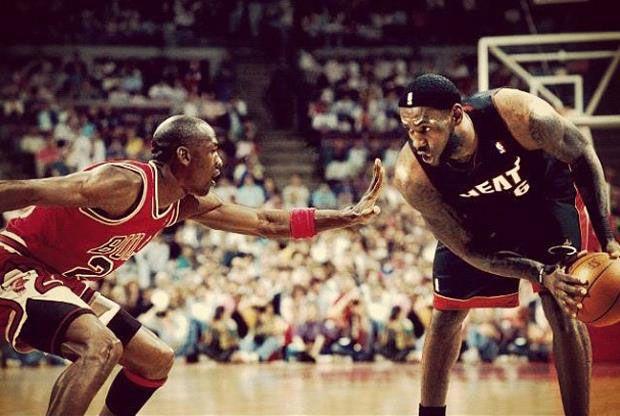 LeBron James: Persigo la grandeza de Jordan no sus seis anillos
