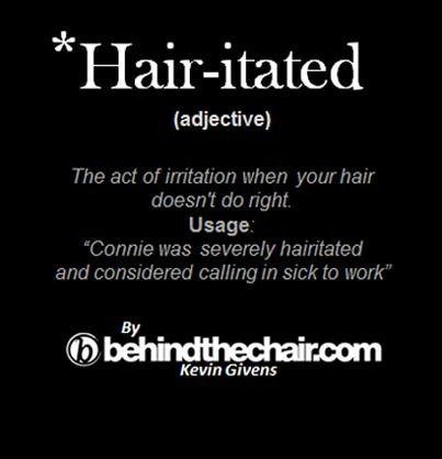 UM... so hairitating