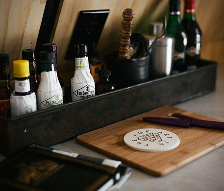 toit en pente cabane design accessoires cuisine #maison #house