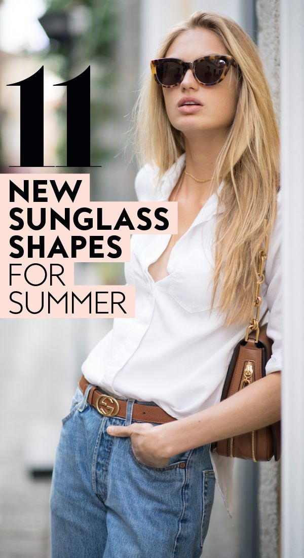 e44d9a777d16 Best New Sunglass Shapes for Summer in 2018