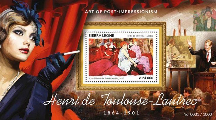 SRL15416b Henri de Toulouse - Lautrec (In the Salon at the Rues des Moulins, 1894)