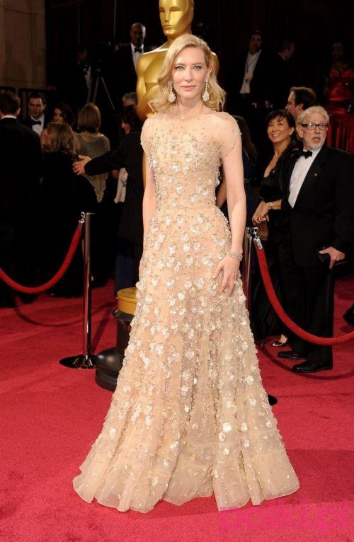 Oscary 2014: Cate Blanchett w kreacji Armani Prive. To chyba nr 1 tegorocznych Oscarów