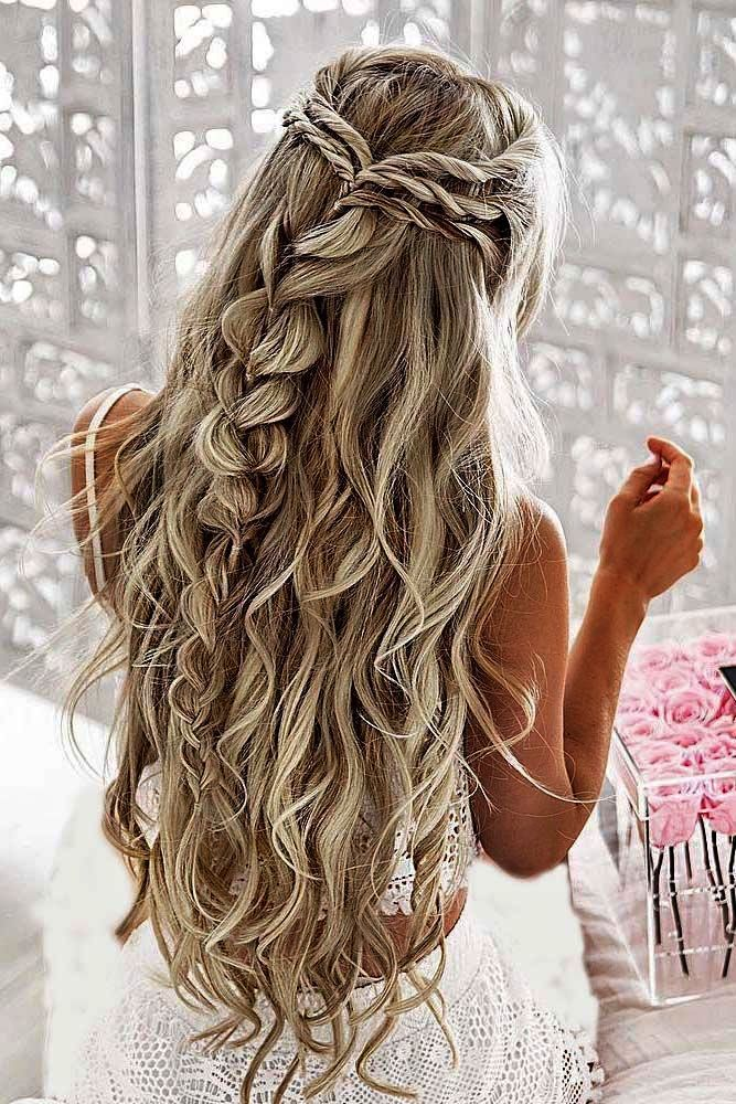 Simple Hairstyle For Wedding Step By Step Simple Wedding Hairstyles Pint Braided Hairstyles For Wedding Pretty Braided Hairstyles Prom Hairstyles For Long Hair