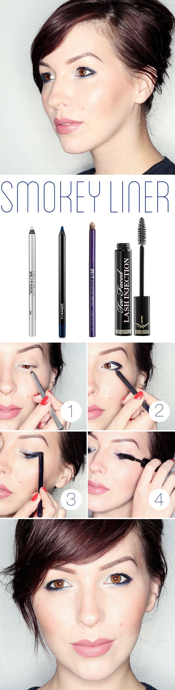 Makeup Monday: Simple Smokey Liner Tutorial
