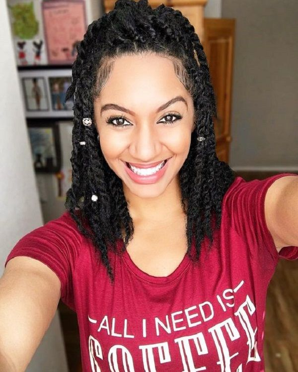 protective loose strand twist for natural hair