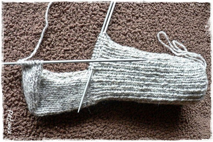 Lær deg å strikke sokker på 1-2-3. Det er lett som en fjert!