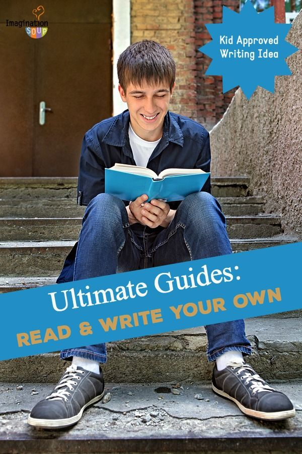 write an ultimate guide to any topic you want-- fun, kid-approved writing activity