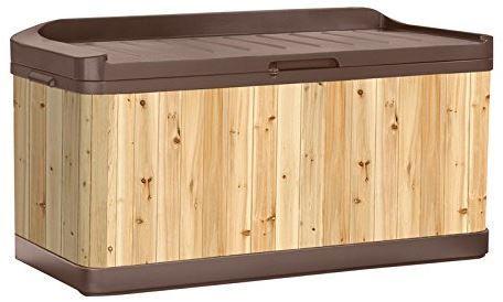 Nice Suncast Extra Large Hybrid Deck Box Combines The · Storage IdeasBox ...