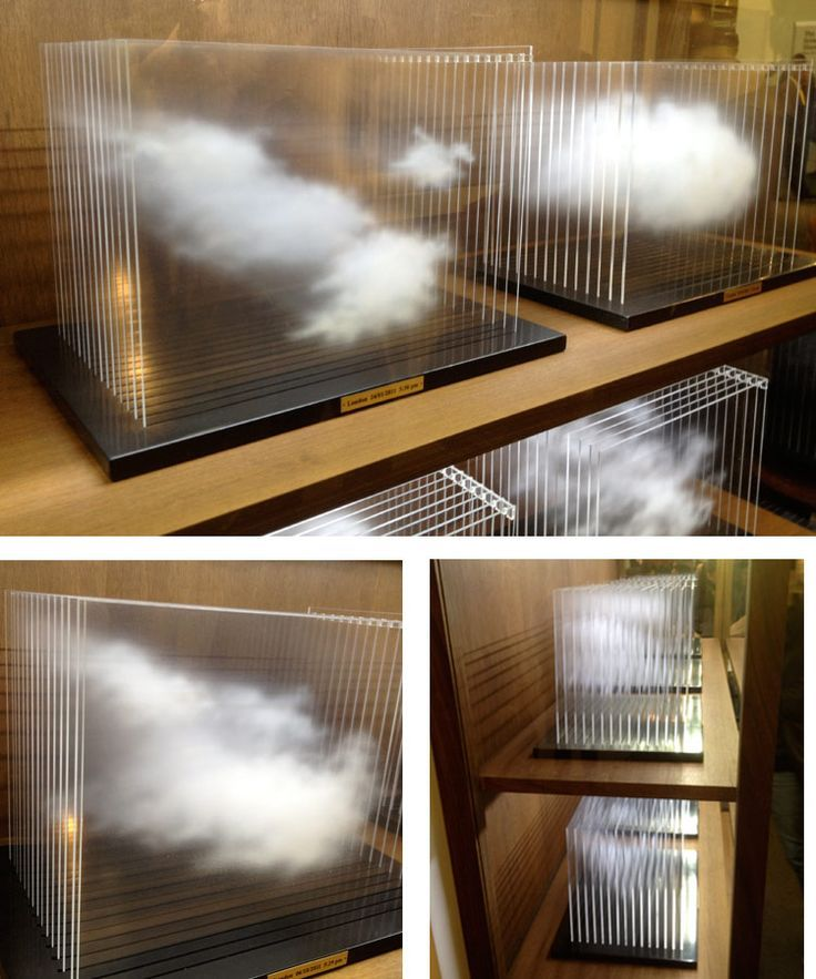 "Leandro Erlich's ""La Vitrina Cloud Collection"" manages to successfully capture the ephemerality of the subject matter. - paintings on"