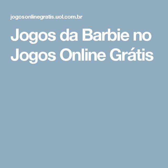 Jogos da Barbie no Jogos Online Grátis