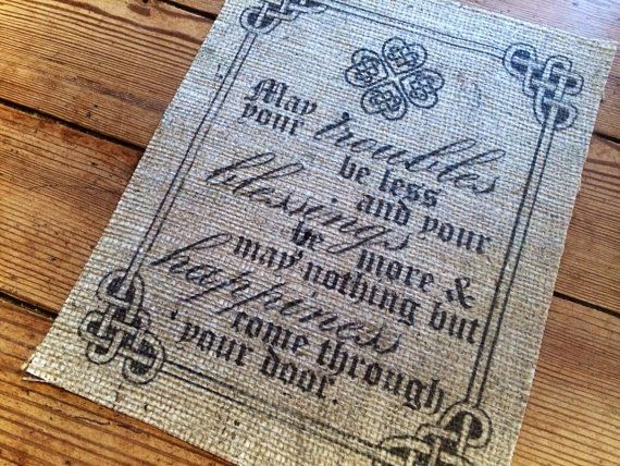 17 Best ideas about Old Irish Blessing on Pinterest ...