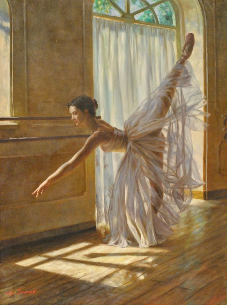 8 Best images about Ballerina Paintings on Pinterest | Oil ...