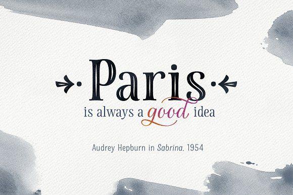 La Parisienne Font Collection by MyCreativeLand on @creativemarket