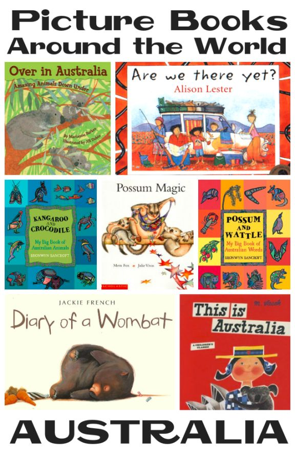Picture Books about Australia