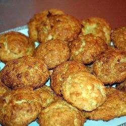 Овсяное печенье с кокосовой стружкой.